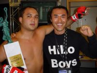 BJ-Penn-and-Mak-with-Romanex-Trophy